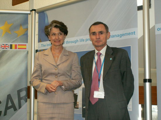 image of Chief Executive, Ms. Claude-France Arnould