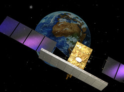 View of a CSG satellite.