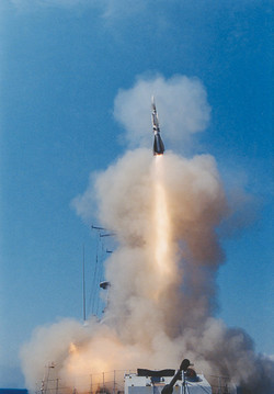 Aster 15 surface-to-air missile