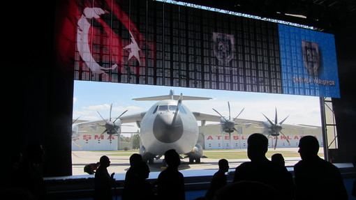 The first Turkish A400M
