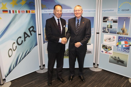 image of EDA Chief Executive visits OCCAR Director