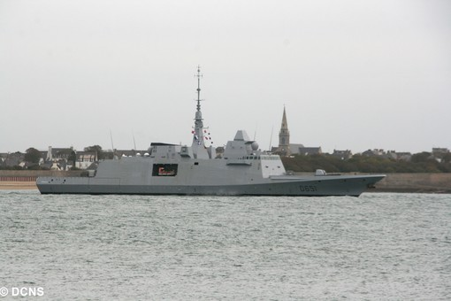 "French FREMM Frigate ""Normandie"""
