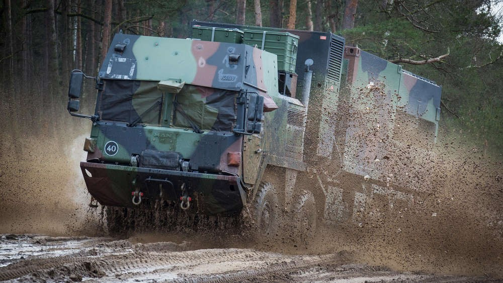 DE COBRA System during military exercise (©Bundeswehr/Maximilian Schulz)