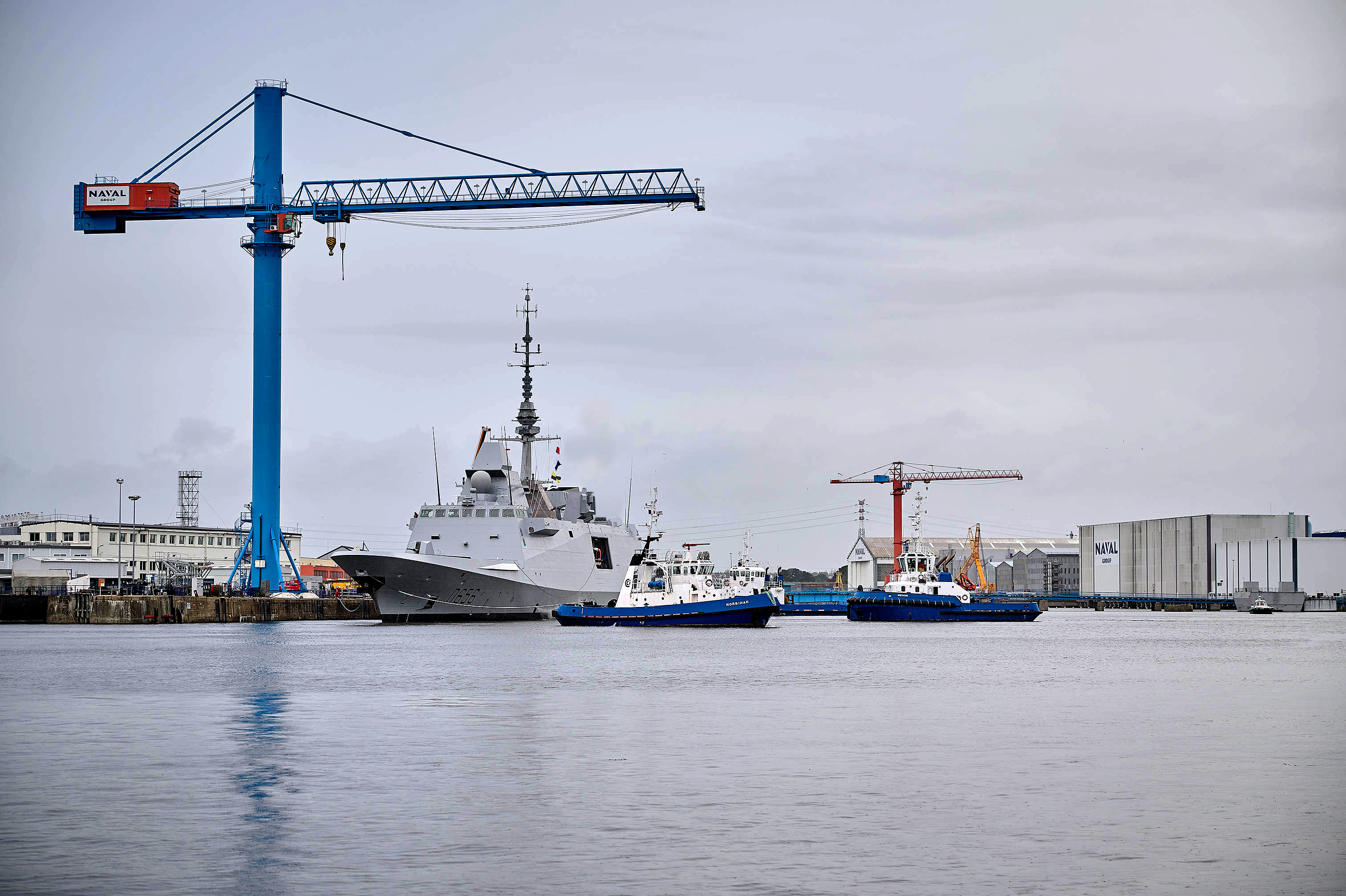"First Sea Trials for the French FREMM FOC FREDA Frigate ""Alsace""  (7th French frigate)"