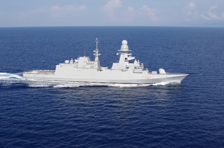Marceglia end of sea trials