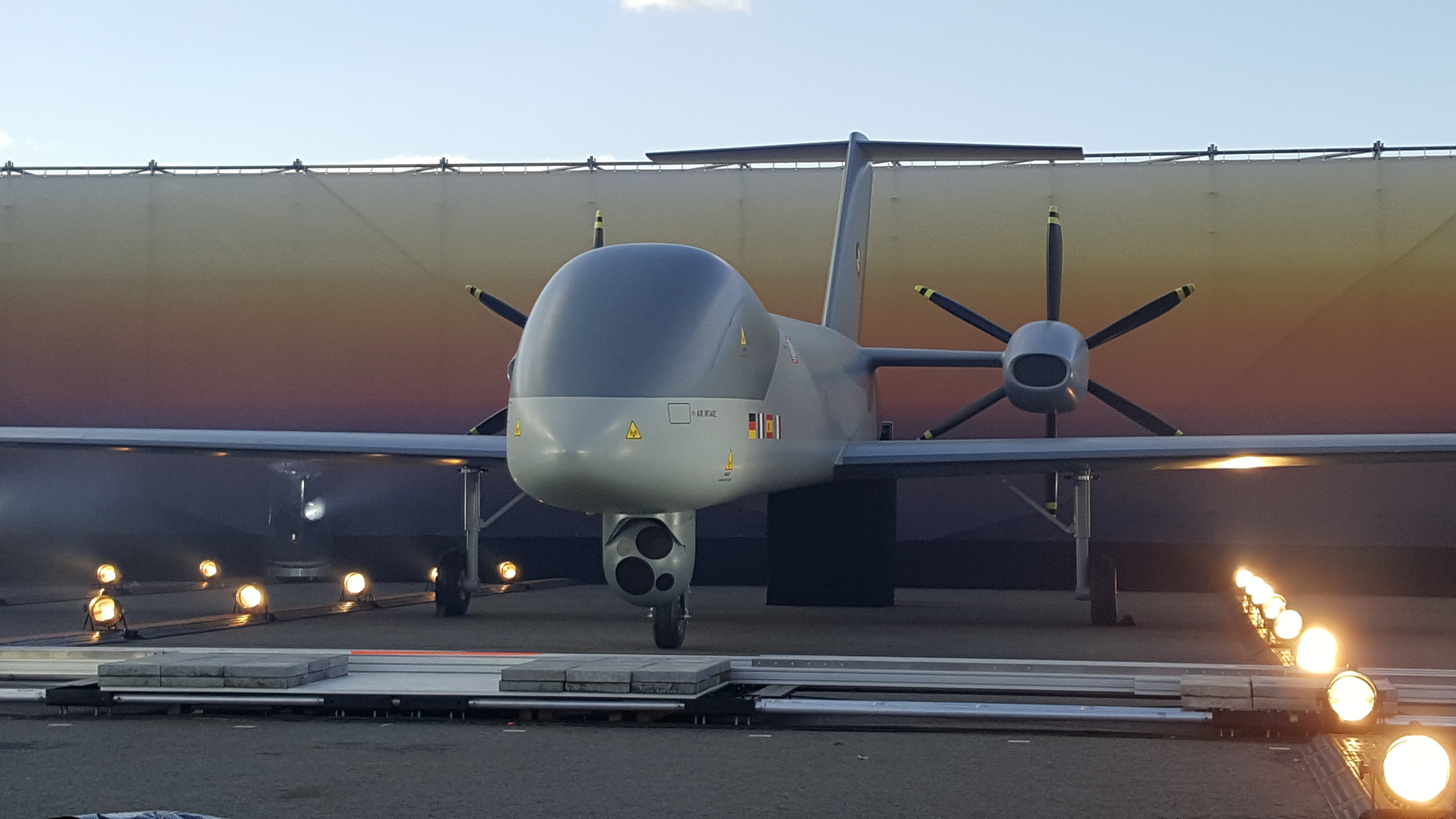 MALE RPAS Mock up unveil