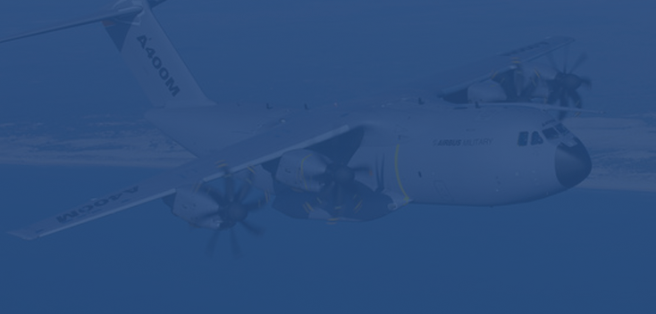 background image of an A400M
