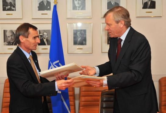 Signature of OCCAR-NATO Security Agreement