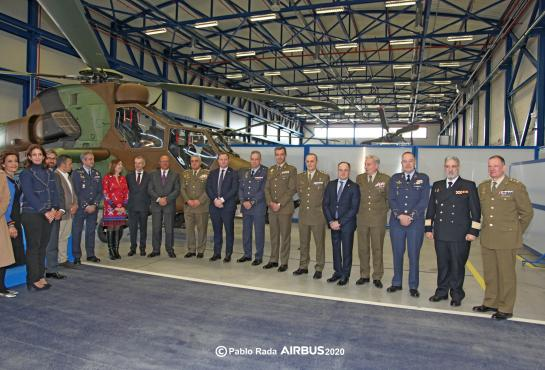 Delivery of the last Spanish TIGER helicopter to Spanish Army