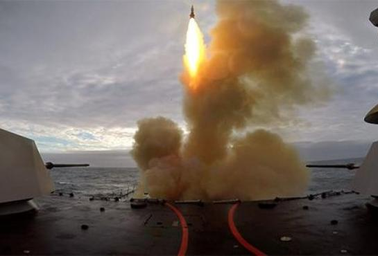 Successful Launch of Aster 30 Missile from Andrea DORIA