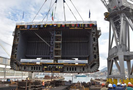 image of Keel Laying Ceremony