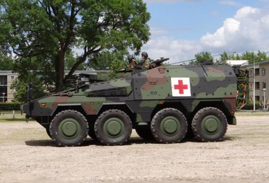 the 300th BOXER vehicle