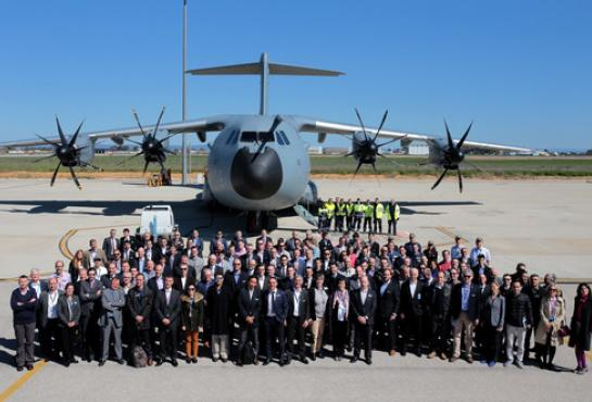 Participants of the first A400M User Forum