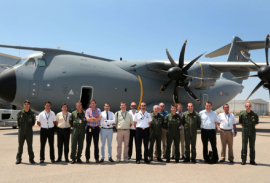 "First A400M in ""Batch 1"" configuration delivered"