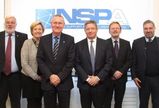 image of NSPA and OCCAR teams