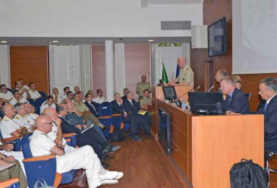 Opening by Lieutenant General Stefanini