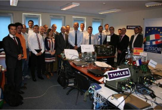 Final interoperability event in the ESSOR Programme