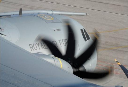 A400M of the Royal Air Force
