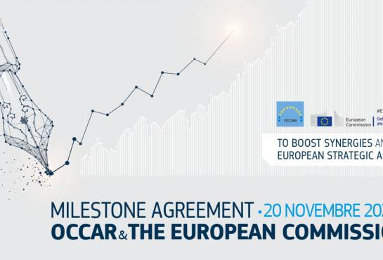 Contribution agreement signature between OCCAR and the European Commission