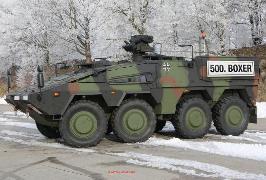 BOXER 500 vehicle