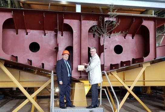 PPA Keel laying