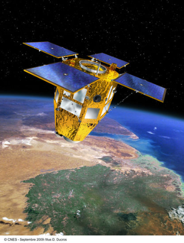 View of a CSO satellite.