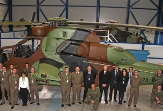 image of The first HAD/E B2 Helicopter with Spanish users