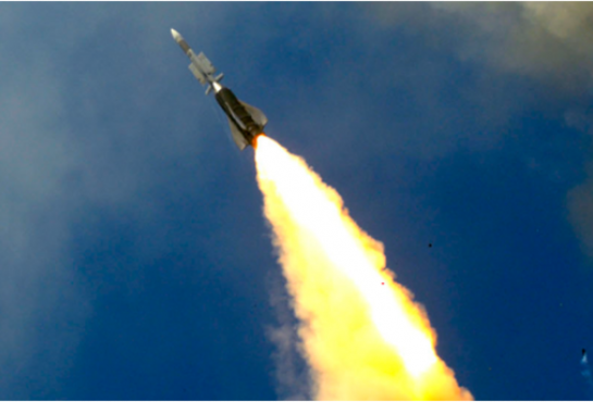 image of an ASTER missile