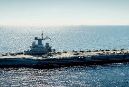 French Aircraft Carrier Charles de Gaulle (SAAM)