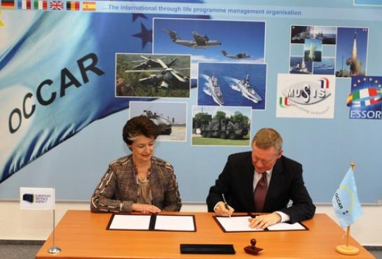 Security Arrangement between EDA and OCCAR signed
