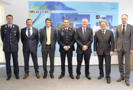 Commander EATC visits OCCAR-EA