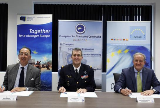 Increased cooperation between OCCAR, EATC and EDA