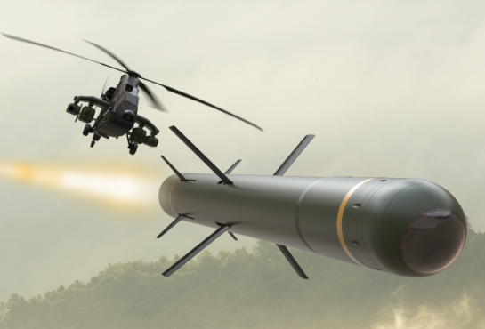 Contract Award Notice: Future Air-to-Ground Tactical Missile (MAST-F) Programme - picture copyright MBDA Systems