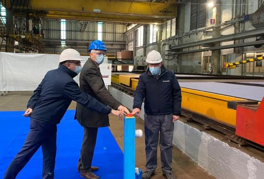 PPA6 First Steel Cutting Ceremony